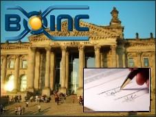 Petició BOINC al parlament Alemany.