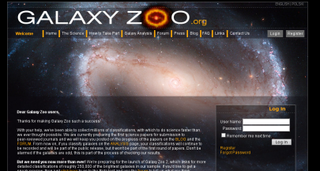Galaxy Zoo (No és un projecte Boinc)